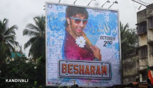 Bollywood, Ranbir Kapoor is back with besharam - Outdoor Advertsing - Mumbai