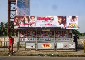 "Global Advertisers promotes Ram Gopal Varma's "" Satya 2 ""."