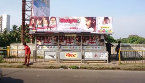 Satya 2 Movie promotion-Bus Shelter Advertsing in Mumbai - Outdoor Promotion - OOH Media - Medias