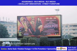 Delhi - Bollywood Jackpot Movie - Outdoor Promotion
