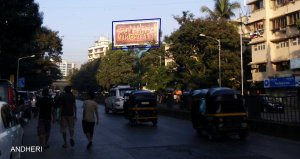 Mahabharat -2013 film - Outdoor Movie Promotion in Mumbai